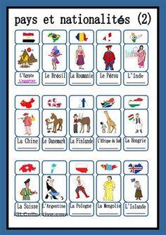 pays et nationalités (2)