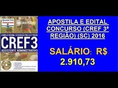 Apostila Concurso Público   Assistente Administrativo  (CREF3ª Região SC...