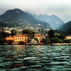 Lake Iseo (Lago D'Iseo), Sovere, Italy #PreAlps Lombardy
