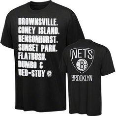 Brooklyn Nets Echelon Tee 11206~¡t@ly~