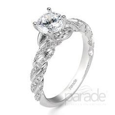 Parade Design Engagement ring available at S.E. Needham Jewelers