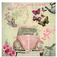 """Pink o' Clock"" by beth-walkingonsunshine on Polyvore"
