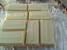 φυσικά καλλυντικά, αλχημείες & ελιξίρια: σαπούνι με δαφνέλαιο Beauty Elixir, Beauty Recipe, Handmade Soaps, Soap Making, Olive Oil, Crystals, Blog, How To Make, Diy