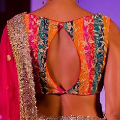@ Aamby Valley India Bridal Fashion Week, 2013 Jyotsna Tiwari's collection 'ELOHIM' was  inspired by colours, fun and festivities around the wedding http://jonastudio.com/