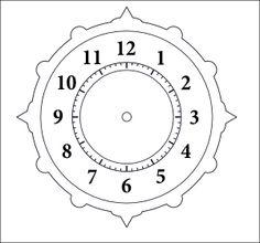 Clock Face Pattern - Bing Images