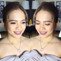 """#OnMyMakeupChair Natural glow for bridesmaid CHRIS using @narsissist for the face and @stilacosmetics """"Patina"""" on her lips. Makeup by @loveaimeeg Hair by @khylelimino #weddingsph #bridesmaidmakeup #weddingsmanila #makeupartistph #makeupartist #hmua #hmuaph #mua #muaph #makeup #hairstylist #hair #beauty #fashion #glam"""