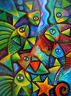 Hello Fishies 3 by karincharlotte