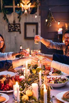 Coisas que me Fazem Sorrir: 6 Passos para Receber Amigos para Jantar!