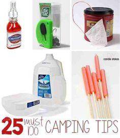 23 Inventive Camping Hacks Seen On Pinterest