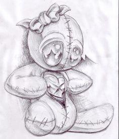 voodoo doll drawing - Google zoeken