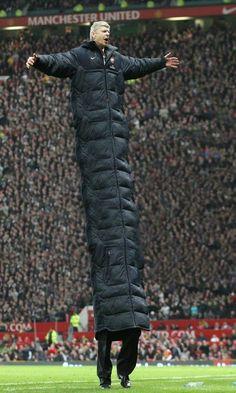 Arsene Wenger's coat