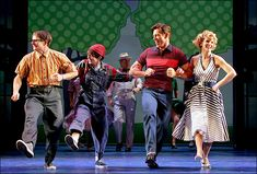 """Keep it casual and kick up your heels like the gang from The Pajama Game do in the musical number """"Once A Year Day""""."""