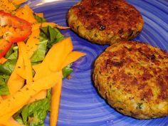 Chilli powder: Hamburguesas de arroz, garbanzos y espinacas