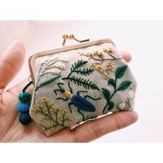 ✨ #embroidery #刺繍 #handmade