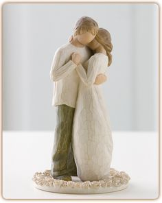 Promise Cake Topper - Hold dear the promise of love.  I just ordered this as my cake topper. Yay!