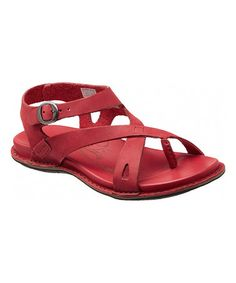 Look what I found on #zulily! Cardinal Alman Leather Sandal by KEEN #zulilyfinds