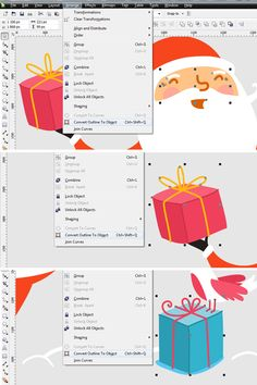 How to Create a Cartoon Holiday Illustration using CorelDRAW - Tuts+ Design & Illustration Tutorial