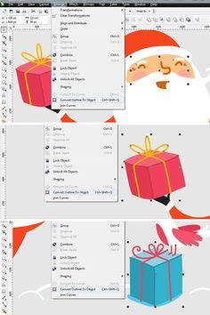 How to Create a Cartoon Holiday Illustration using CorelDRAW - Tuts+ Design & Illustration Tutorial