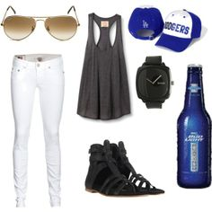 Perf for a baseball game. Go Dodgers!