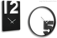 Twelve to Five:   Take your Pick with New Umbra Clocks