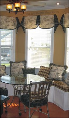 window treatments for bay windows | Window Treatment Styles | Window Treatments For Bay Windows Pictures