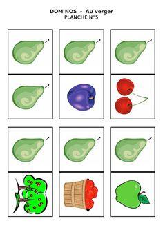 Planche 5 - Dominos du verger