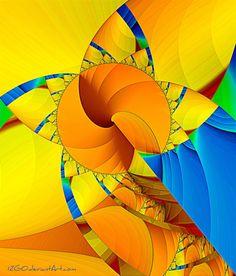 maCaw by 12GO fractal art