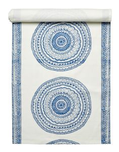 RANGOLI runner blue Restaurant Furniture, Textiles, Tapestry, Home Decor, Table, Hanging Tapestry, Tapestries, Decoration Home, Room Decor
