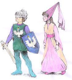Alles was Ritter und Burgfräulein brauchen - selbstgemacht - Spiel und Zukunft