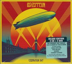 http://custard-pie.com/ Led Zeppelin - Celebration Day (Deluxe Edition 2 CD + DVD)