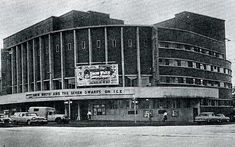 """Closed in 1969 Webster appeared in """"Amorous Prawn"""" here in November Durban South Africa, South Afrika, Nostalgic Images, Art Deco Buildings, Kwazulu Natal, Concert Hall, Travel Bugs, Prawn, Cinema"""