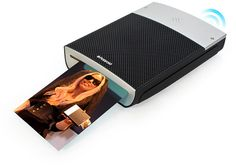 Polaroid GL10 Instant Mobile Printer - Here's another way to turn pixels tangible. The GL10 connects to your mobile phone via Bluetooth and prints your photos, no ribbons, or cartridges required. Print up to 35 3×4 full-color photos in a single charge