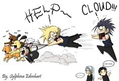 FF7CC_The Restless Puppies by SylphinaEdenhart