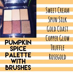 Mary Kay Pumpkin Spice Palette