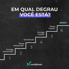 De endividado a investidor: em qual degrau você está?  #dívidas #economia #investimento #conquista #modalmais