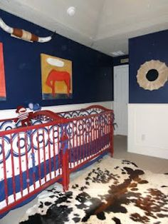 Cute blog about an American cowboy themed nursery