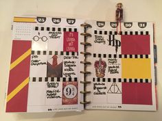 From CheapCraftyGirl on U-tube. Hey, I found this really awesome Etsy listing at https://www.etsy.com/listing/468609593/harry-potter-inspired-planner-kit