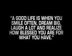 Gratefullness goes a long way!