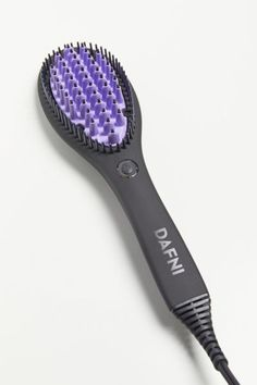 Brush your hair, don't iron it! Straightening has never been easier thanks to this revolutionary hair tool by DAFNI that straightens and brushes at the same time. Patented technology and ceramic bristles smooth and style hair, using lower temperatures, 8x the surface area and 10x the strength of a traditional flat iron.Features. Hair brush + heat tool in one Easy-to-use 3D ceramic surface design Uses recommended temperature of 365° Styles up to 10x more hair in each strokeHow To Use. Use only on Dry Hair, Hair Brush, Ceramic Brush, Ceramic Hair Straightener, Prevent Ingrown Hairs, Best Hair Care Products, Cheap Makeup, Concealer Brush, Hair Tools