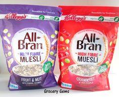 Grocery Gems: Review: Kellogg's All-Bran High Fibre Muesli