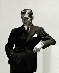 Clark Gable-so suave it hurts.