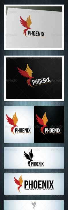 Phoenix by Scredeck Phoenix is a multipurpose logo, can be used in any companies related to birds, rebirth, fire, wisdom etc. Ai & EPS 10 / CMYK / 10