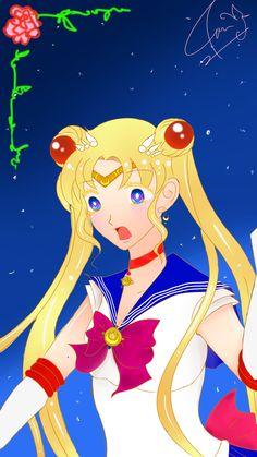 Sailor moon fanart (c) by me  my other aliases : >Azophi >papillonverse >Riku