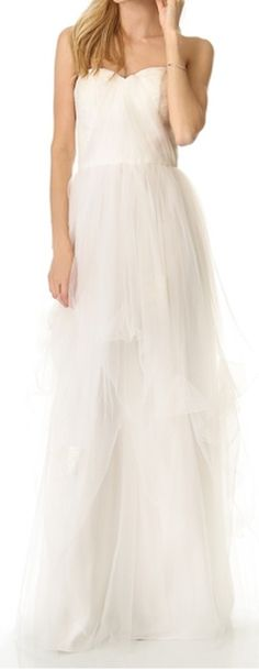 gorgeous dovey strapless gown  http://rstyle.me/n/fds5ipdpe