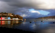 Tobermory bay No One Loves Me, Great Britain, Scotland, Environment, Castle, Urban, River, Spaces, History