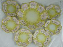 Vantines Porcelain Berry Set Master Bowl and 6 Serving Bowls from Ornaments at rubylane.com