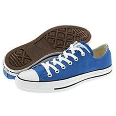 Blue All Star Converse Low Tops  - $16.00 Price Lowered! Free Shipping!