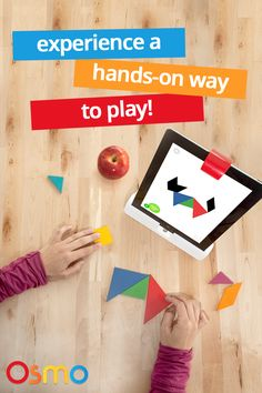 Your student's core curriculum should be a combination of learning and fun. With Osmo, students experience hands-on play with iPad technology to build, grow and learn. Discover Osmo's groundbreaking learning technology for your child's future today.