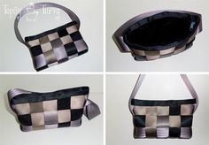I want a Harvey's Seat Belt Purse (someone tell my husband!) This is cute but looks like a lot of work
