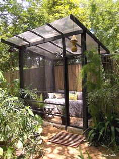 The wooden pergola is a good solution to add beauty to your garden. If you are not ready to spend thousands of dollars for building a cozy pergola then you may devise new strategies of trying out something different so that you can re Diy Pergola, Pergola Canopy, Wooden Pergola, Outdoor Pergola, Pergola Shade, Gazebo, Pergola Kits, Pergola Ideas, Pergola Roof